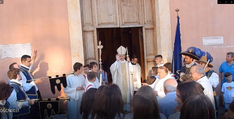 Inaugurazione chiesa di San Marco