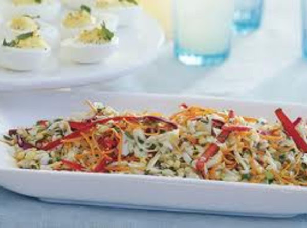 Cabbage And Corn Slaw With Orange Dressing Recipe