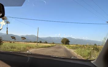 Photo: Jízda taxikem do vesnice Breaza