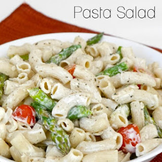 Low Carb Pasta Salad.