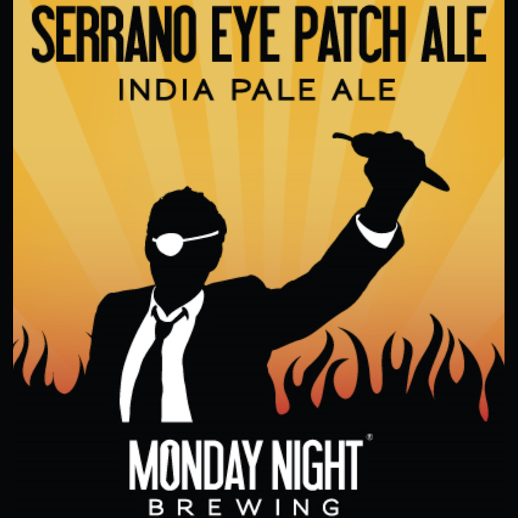 Logo of Monday Night Eye Patch Serrano