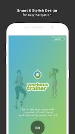 Workout Trainer fitness coach Screenshot 5