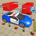 Modern Police Car Parking 2020: Multi Level Parker icon