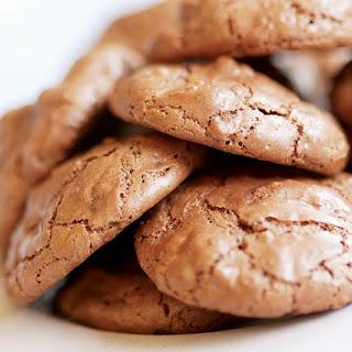 Chocolate Soufflé Cookies.