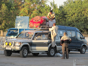 Photo: Day 167 - Loading Up a 4x4 for Trip to Anyi or Dashanbe