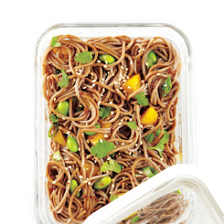 Soy-Lime Soba Noodle and Edamame Salad