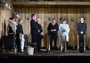 Photo: Wien/ Theater in der Josefstadt: JÄGERSTÄTTER von Felix Mitterer. Inszenierung: Stephanie Mohr, Premiere 20.6.2013. Ensemble. Foto: Barbara Zeininger