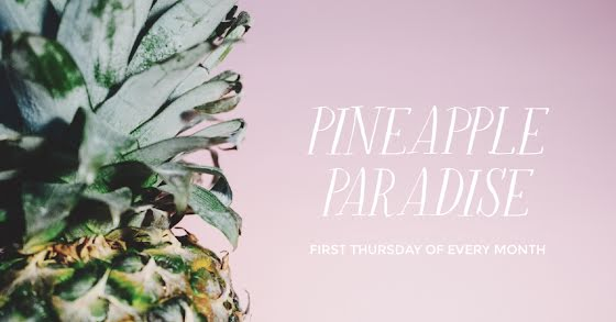 Pineapple Paradise - Facebook Event Cover Template