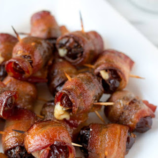 Maple Sriracha Devils on Horseback.