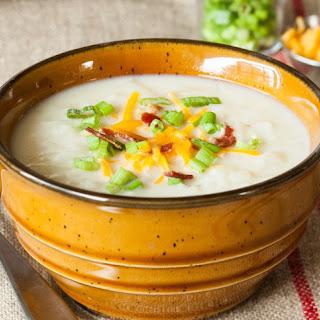 Hash-Brown Potato Soup.