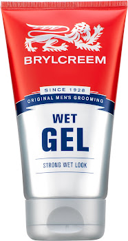 Brylcreem Wet Gel - Strong Wet Look, 150ml