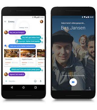 Google Allo en Google Duo