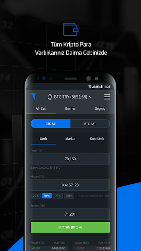 Thodex – Global Kripto Para Alım Satımı screenshot 3