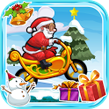Santa Motorbike Christmas Adventure icon