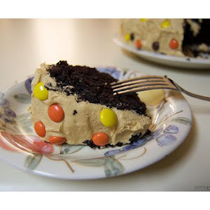 Reeses Peanut Butter Candy Cake