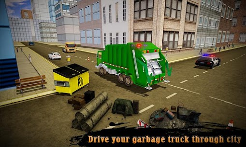 Real Robot Transformation Garbage Truck Driving 3D 2
