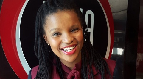 Zizo Tshwete has encouraged her followers to be in control of their lives.