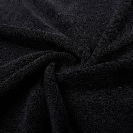 Stretch Frotté - svart