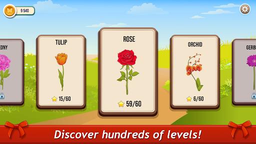 Solitaire TriPeaks Rose Garden: love flowers 2020 screenshots 4