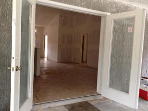 Photo: December 10, 2012 Lanai doors. Photo by Lake Weir Living