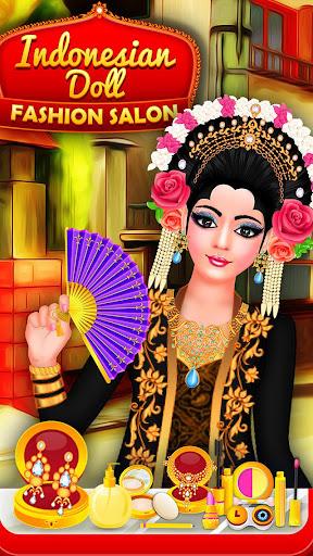 Indonesian Doll Fashion Salon Dress up & Makeover 2.0 screenshots 11