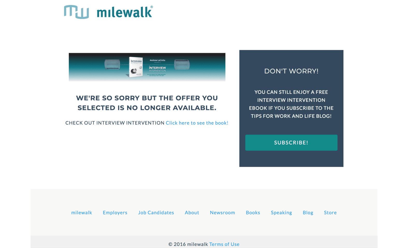 404 error landing page example