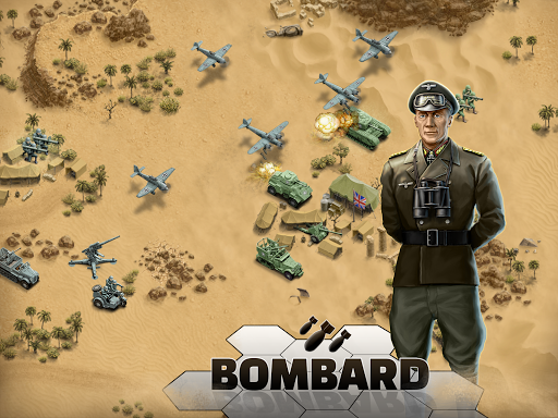 1943 Deadly Desert - a WW2 Strategy War Game 1.3.0 11