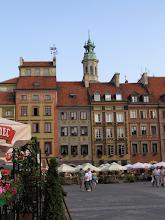 Photo: Poznávání Varšavy - virtuální prohlídka. Varšavské staroměstské náměstí.