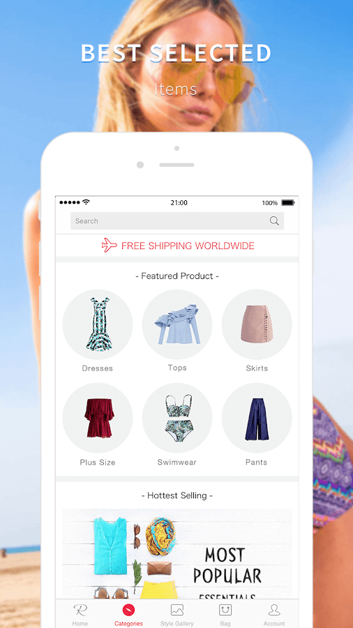 Rosegal-Chic Shopping Deals- screenshot