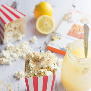 Lemon Meringue Gourmet Popcorn.