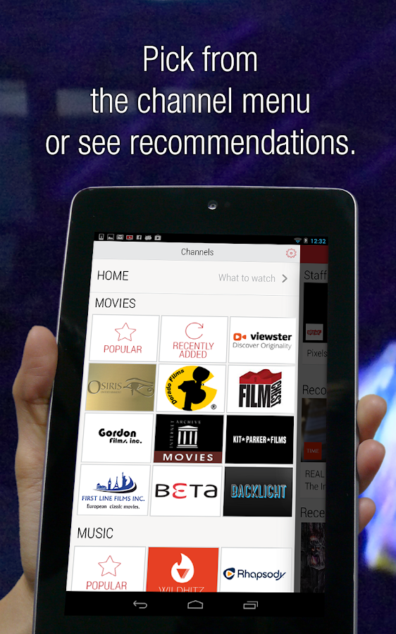 Flipps HD - Movies, Music & TV - screenshot