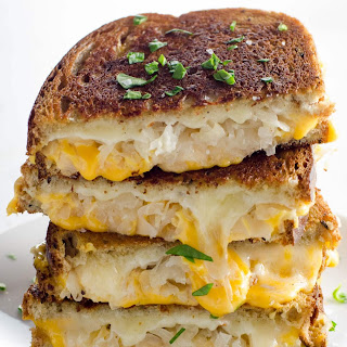 Grilled Cheese with Sauerkraut and Dijon Recipe