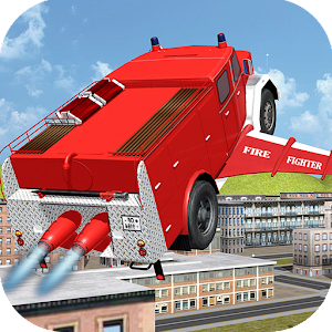 Flying Firetruck City Pilot 3D for PC and MAC
