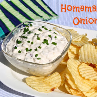 Homemade Onion Dip