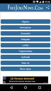 Physics and Chemistry app screenshot