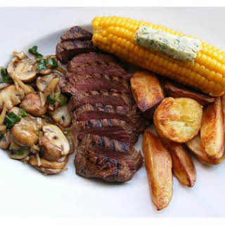 Pepper Steak With Potatoes.