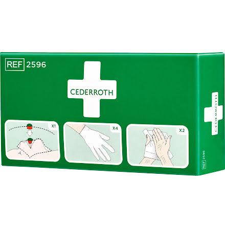 Skyddspaket med handskar  2596