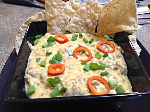Dan's Roasted Red Pepper Nacho Cheese Dip Recipe