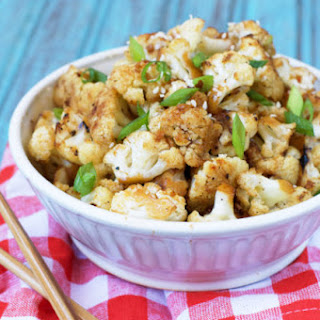 Paleo General Tso's Cauliflower