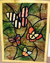 "Photo: #81-A, Carol Meier, ""Stained Glass Butterflies"""