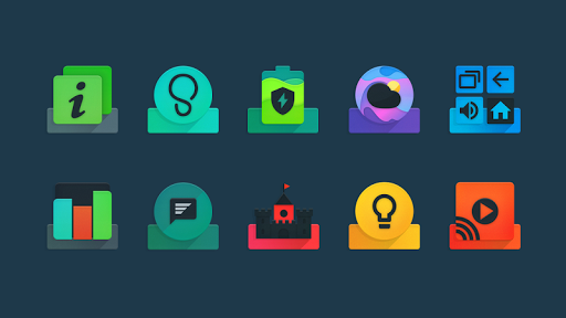 Ombre - Icon Pack app for Android screenshot
