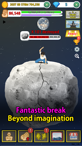 Tap Tap Breaking: Break Everything Clicker Game 1.41 gameplay | by HackJr.Pw 6