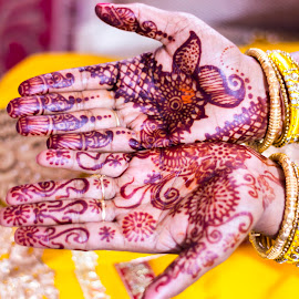 Mehandi  by Abhinaw Anand - Abstract Patterns ( mehandi, wedding, artistis, india, marriage, bride )