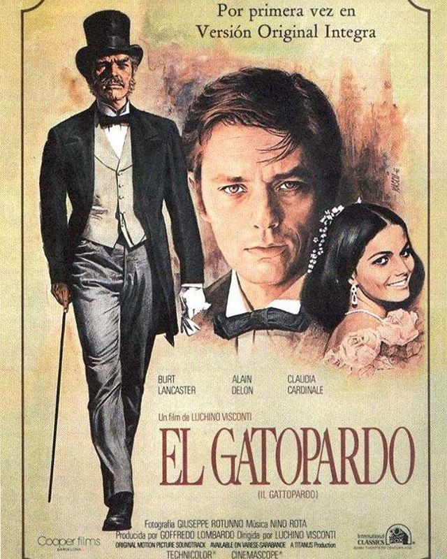 El gatopardo (1963, Luchino Visconti)