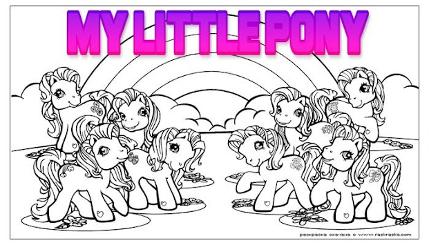 Download Little Pony Colouring Book Favorite Video Apk Latest