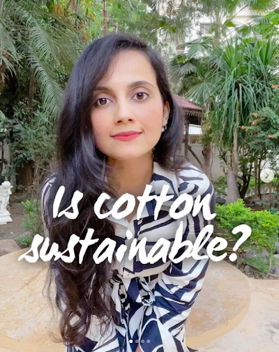 Is cotton a #sustainable fabric
