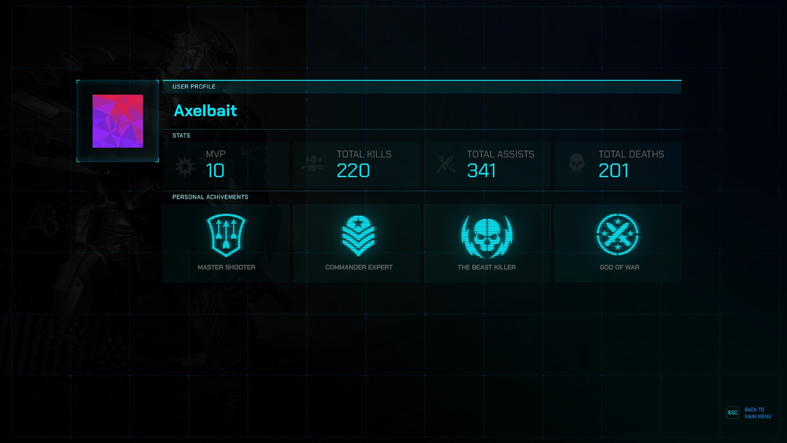 How to add Player's Statistics to Your Game