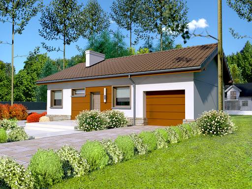 projekt Dom przy Przyjemnej 8 bis