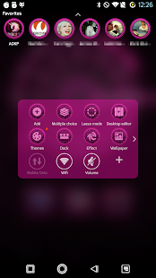 PCB Pink ⁞ TSF Shell 3 Theme - screenshot thumbnail