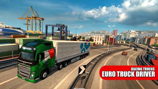 Truck Simulator : Euro Trucks 2019  captures d'écran 1